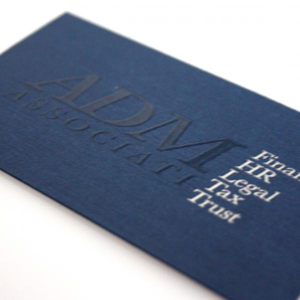 ADM Associati - business card