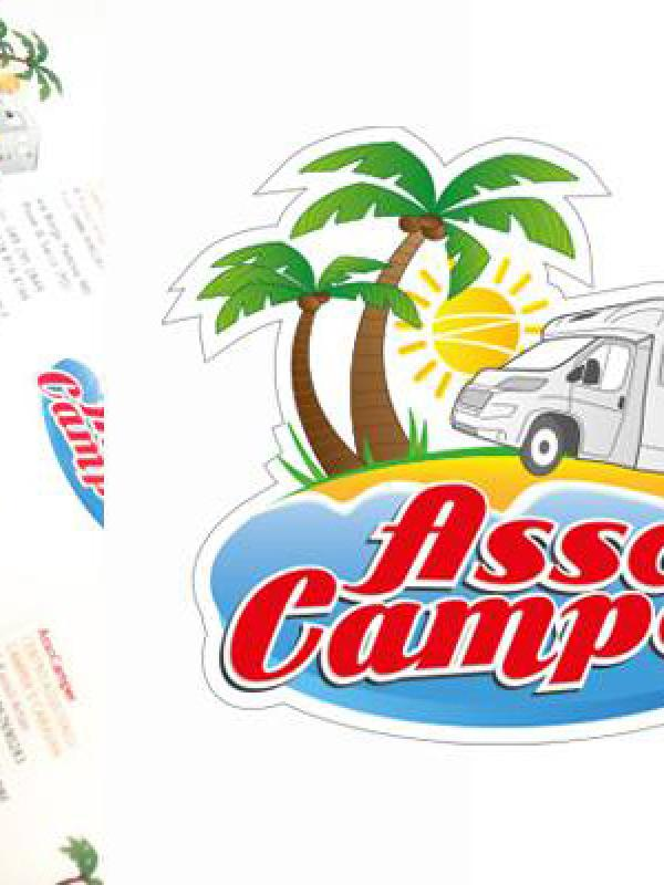 AssoCamper - logo e business card